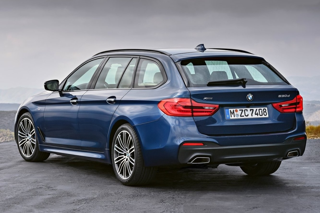 Car Bags BMW 5-serie Touring 2017-
